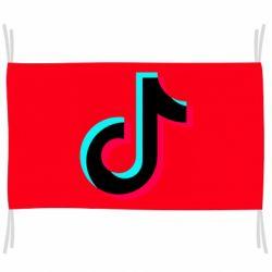 Прапор TikTok sign