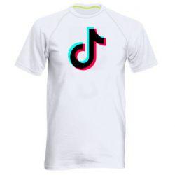 Чоловіча спортивна футболка TikTok sign