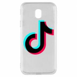 Чохол для Samsung J3 2017 TikTok sign