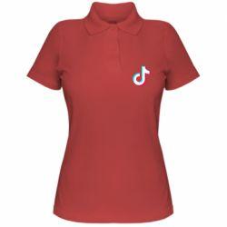 Жіноча футболка поло TikTok sign