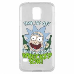 Чохол для Samsung S5 Time to get riggity wrecked son