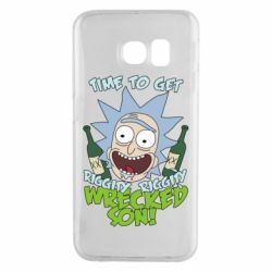 Чохол для Samsung S6 EDGE Time to get riggity wrecked son