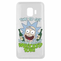 Чехол для Samsung J2 Core Time to get riggity wrecked son