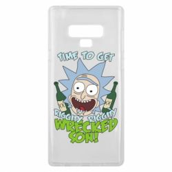Чехол для Samsung Note 9 Time to get riggity wrecked son