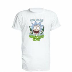 Удлиненная футболка Time to get riggity wrecked son
