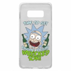Чехол для Samsung S10e Time to get riggity wrecked son