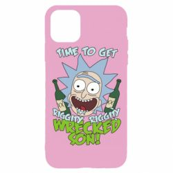 Чехол для iPhone 11 Pro Time to get riggity wrecked son