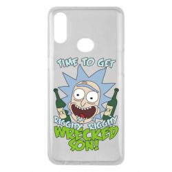 Чехол для Samsung A10s Time to get riggity wrecked son
