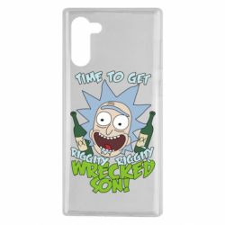 Чехол для Samsung Note 10 Time to get riggity wrecked son