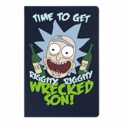 Блокнот А5 Time to get riggity wrecked son