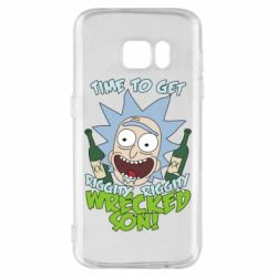 Чохол для Samsung S7 Time to get riggity wrecked son