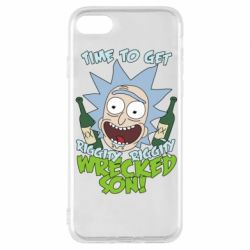 Чехол для iPhone 8 Time to get riggity wrecked son