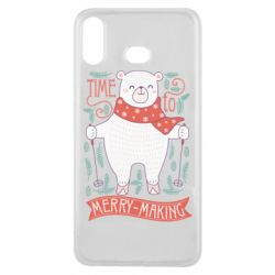 Чехол для Samsung A6s Time to merry-making