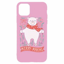 Чехол для iPhone 11 Pro Time to merry-making