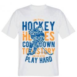 Чоловіча футболка Time To Play Hockey