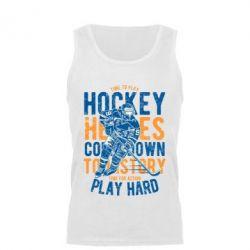 Майка чоловіча Time To Play Hockey