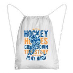 Рюкзак-мішок Time To Play Hockey