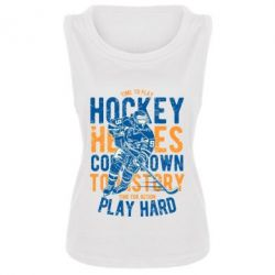 Майка жіноча Time To Play Hockey