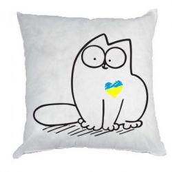 Подушка Типовий український кіт - FatLine