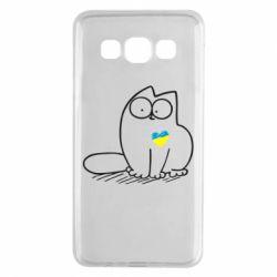 Чехол для Samsung A3 2015 Типовий український кіт
