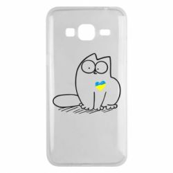 Чехол для Samsung J3 2016 Типовий український кіт