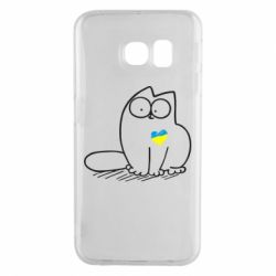 Чехол для Samsung S6 EDGE Типовий український кіт
