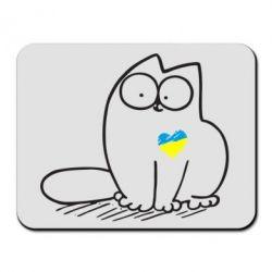 Коврик для мыши Типовий український кіт - FatLine