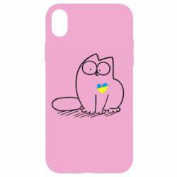 Чехол для iPhone XR Типовий український кіт