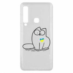 Чехол для Samsung A9 2018 Типовий український кіт