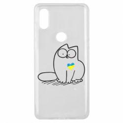 Чехол для Xiaomi Mi Mix 3 Типовий український кіт