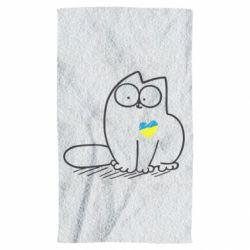 Рушник Типовий український кіт