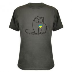 Камуфляжная футболка Типовий український кіт - FatLine