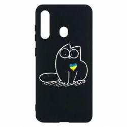 Чохол для Samsung M40 Типовий український кіт