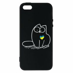 Чохол для iphone 5/5S/SE Типовий український кіт
