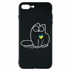 Чохол для iPhone 7 Plus Типовий український кіт