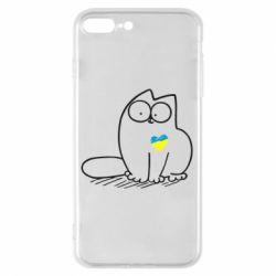 Чохол для iPhone 8 Plus Типовий український кіт