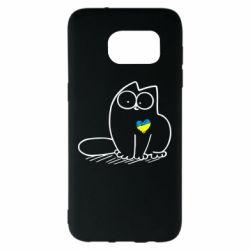 Чохол для Samsung S7 EDGE Типовий український кіт