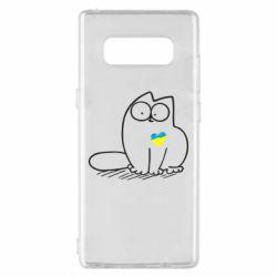Чехол для Samsung Note 8 Типовий український кіт