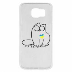 Чохол для Samsung S6 Типовий український кіт