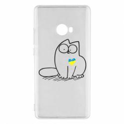 Чехол для Xiaomi Mi Note 2 Типовий український кіт