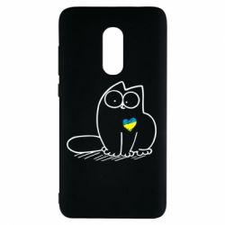 Чехол для Xiaomi Redmi Note 4 Типовий український кіт