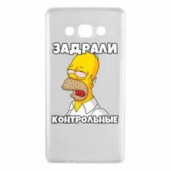 Чохол для Samsung A7 2015 Tired of studying