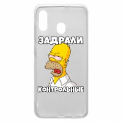 Чохол для Samsung A20 Tired of studying