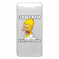 Чохол для Samsung A80 Tired of studying