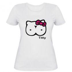 Жіноча футболка Titty