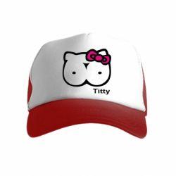 Детская кепка-тракер Titty