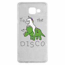 Чохол для Samsung A5 2016 To the disco