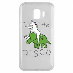 Чохол для Samsung J2 2018 To the disco