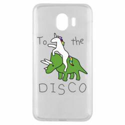 Чохол для Samsung J4 To the disco