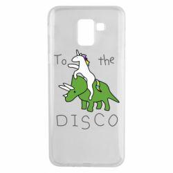 Чохол для Samsung J6 To the disco